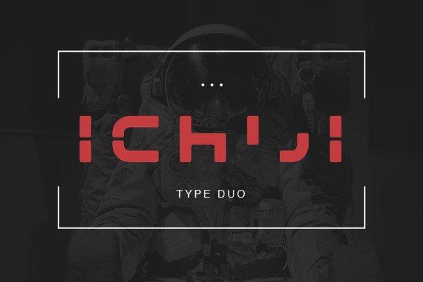 Ichiji Type шрифт скачать бесплатно
