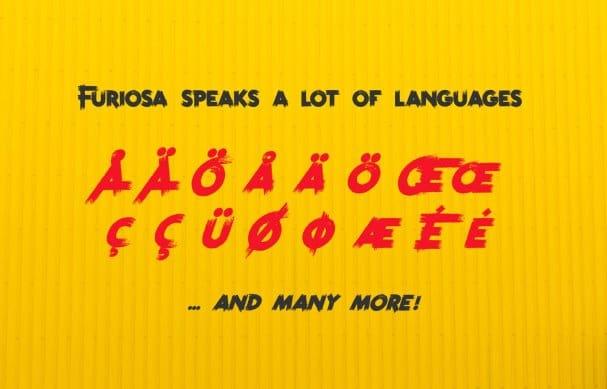 Furiosa шрифт скачать бесплатно