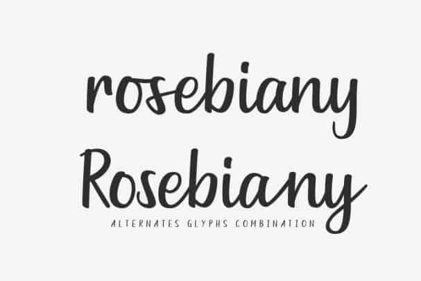 Goldiana - Font Script шрифт скачать бесплатно