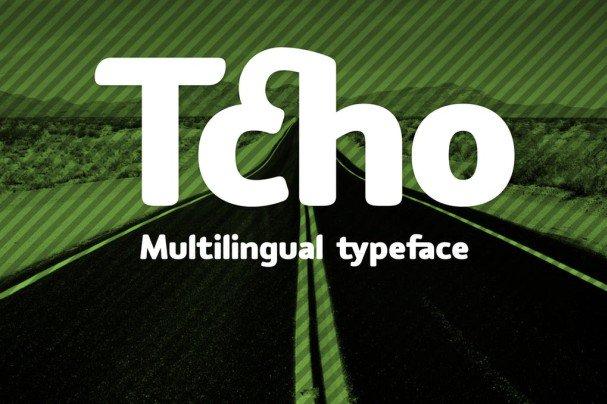 Tcho шрифт скачать бесплатно