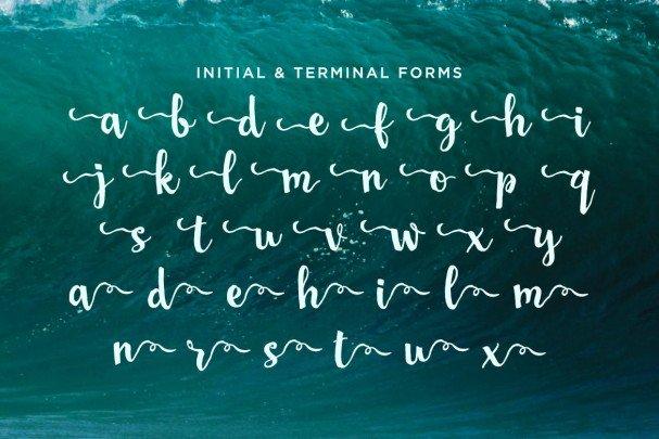 San Luis Script   шрифт скачать бесплатно