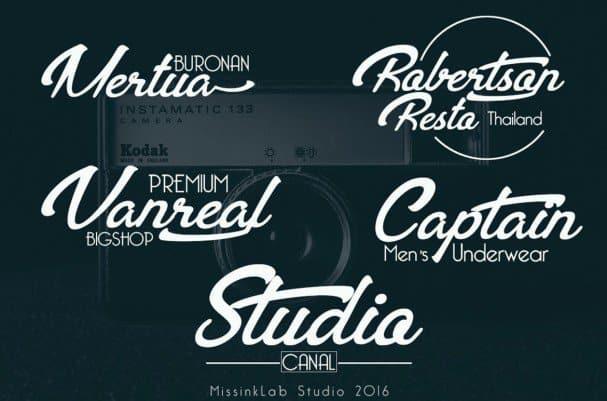 Bentoh modern typeface шрифт скачать бесплатно