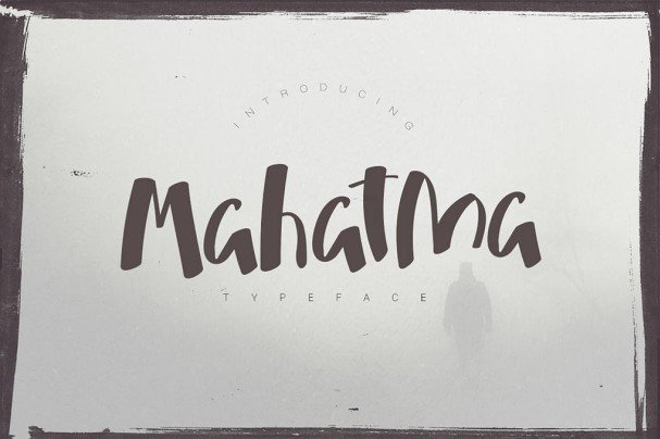 Mahatma Typeface шрифт скачать бесплатно