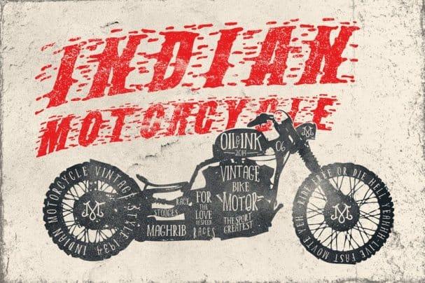 Stooges Races шрифт скачать бесплатно