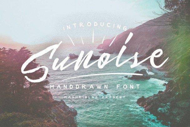 Sunoise шрифт скачать бесплатно