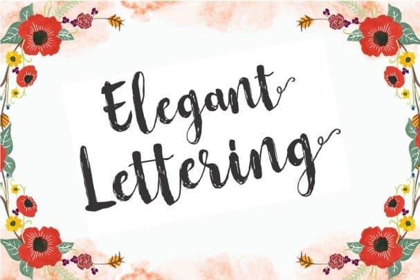 Flowerroom Script шрифт скачать бесплатно