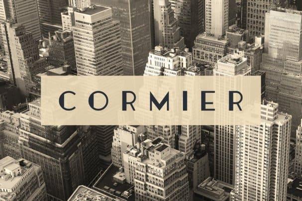 Cormier шрифт скачать бесплатно