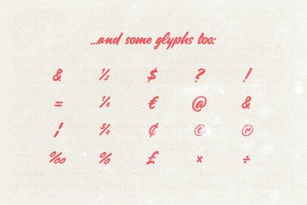 Carosello шрифт скачать бесплатно