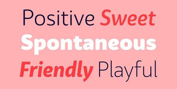 Bw Surco font family шрифт скачать бесплатно
