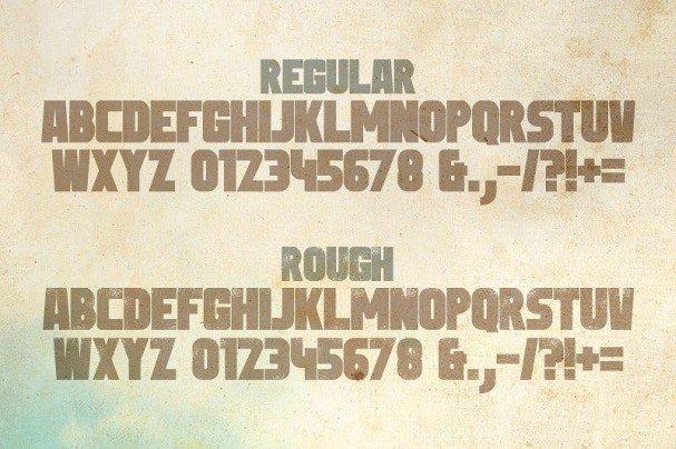 Sledge Typeface шрифт скачать бесплатно