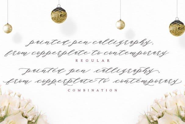 Authentic Script шрифт скачать бесплатно