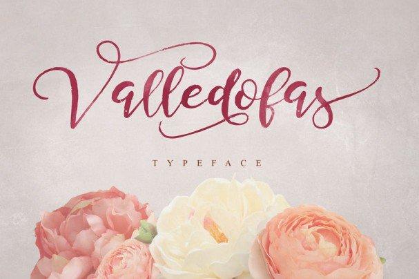 Valledofas Typeface шрифт скачать бесплатно