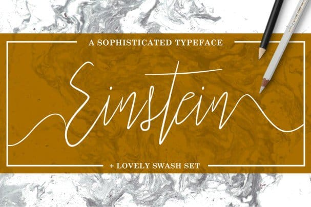 Einstein   шрифт скачать бесплатно