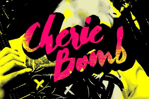 Cherie Bomb шрифт скачать бесплатно