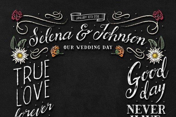 BrideChalk Typeface шрифт скачать бесплатно