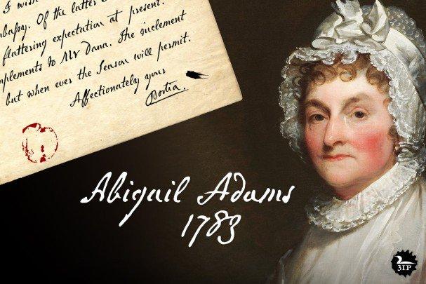 Abigail Adams шрифт скачать бесплатно