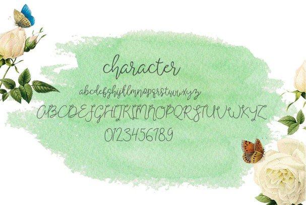 Shartica Script шрифт скачать бесплатно