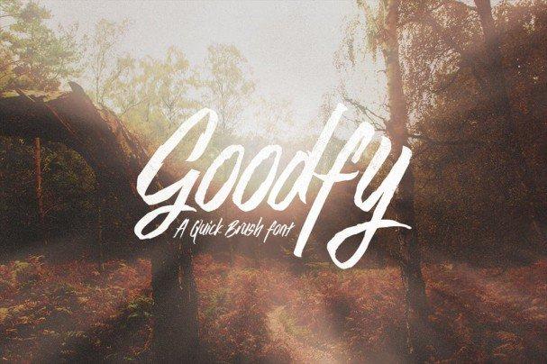 Goodfy шрифт скачать бесплатно