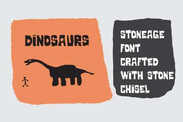Stoneage шрифт скачать бесплатно
