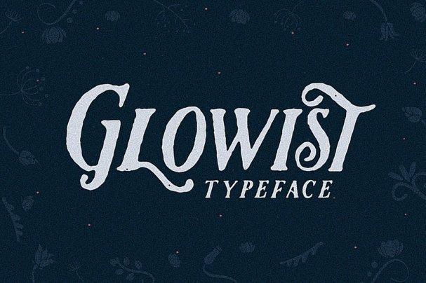 Glowist шрифт скачать бесплатно