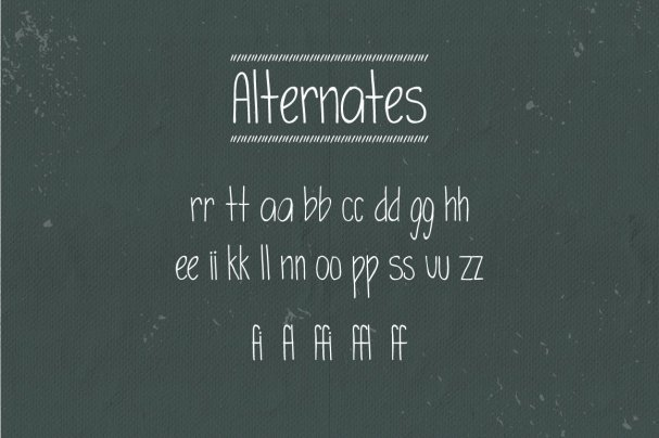 Simplicity Typeface шрифт скачать бесплатно