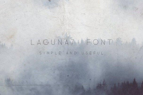 Laguna7   шрифт скачать бесплатно