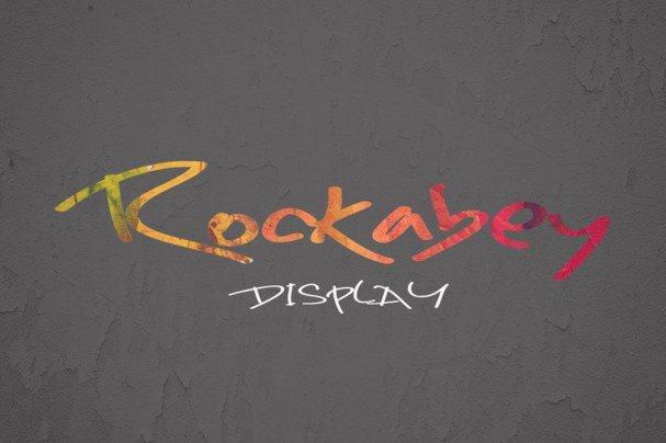 Rockabey шрифт скачать бесплатно