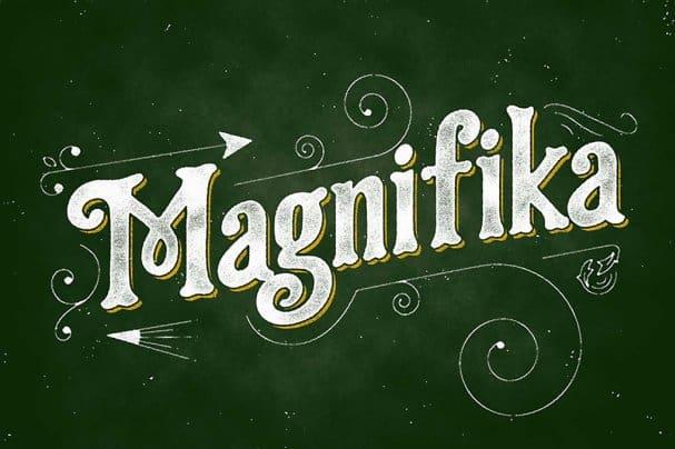 Magnifika шрифт скачать бесплатно