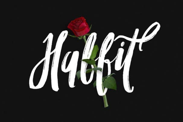 Habbit Typeface шрифт скачать бесплатно
