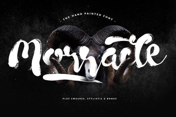 Morracle Typeface шрифт скачать бесплатно