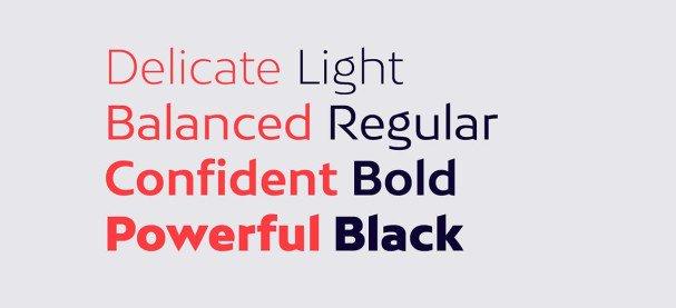 Bw Mitga font family шрифт скачать бесплатно