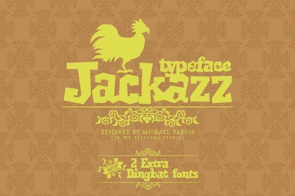 Jackazz шрифт скачать бесплатно