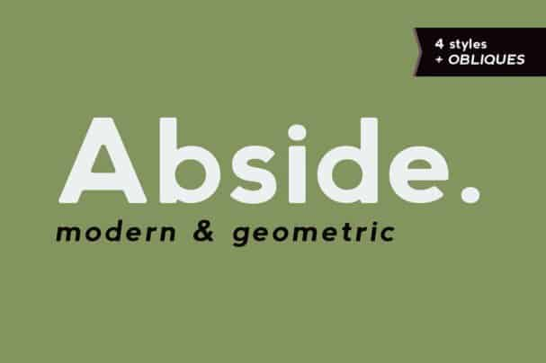 Abside шрифт скачать бесплатно