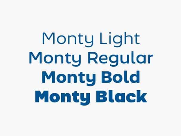 Monty шрифт скачать бесплатно