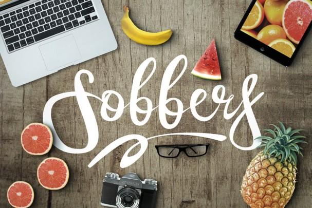 Sobbers Typeface шрифт скачать бесплатно