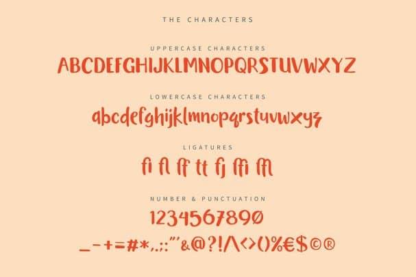 Book Worm Typeface шрифт скачать бесплатно