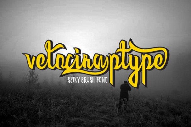 Velociraptype Font шрифт скачать бесплатно
