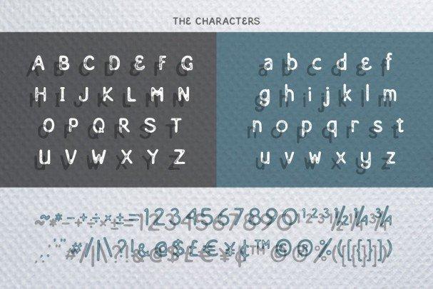 Eastern Typeface шрифт скачать бесплатно