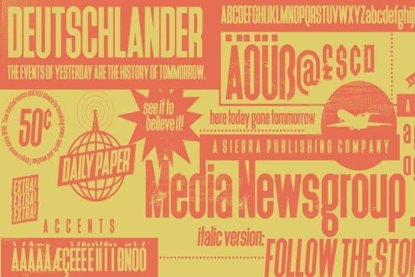 Deutschlander шрифт скачать бесплатно