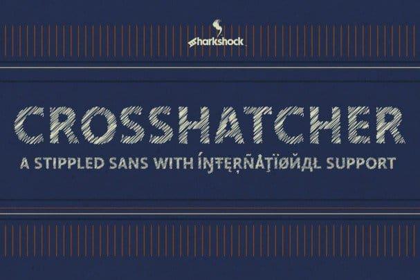 Crosshatcher шрифт скачать бесплатно