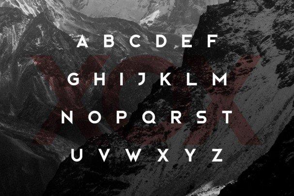 Bjorn Typeface шрифт скачать бесплатно