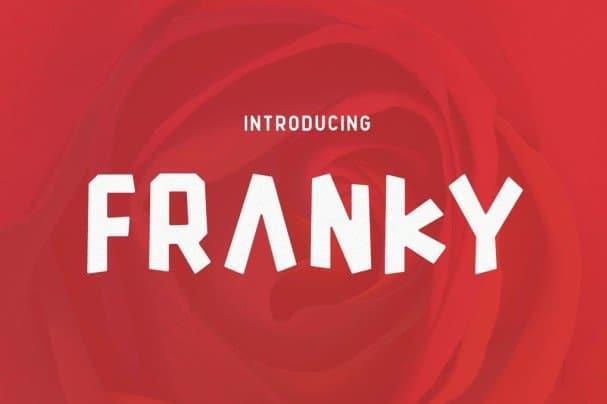 Franky шрифт скачать бесплатно