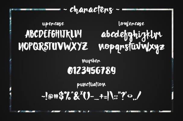 Damnright Typeface шрифт скачать бесплатно