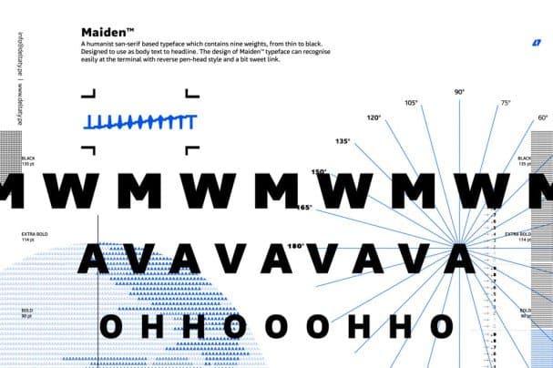 Maiden шрифт скачать бесплатно