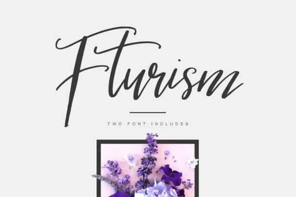 Fturism Typeface шрифт скачать бесплатно