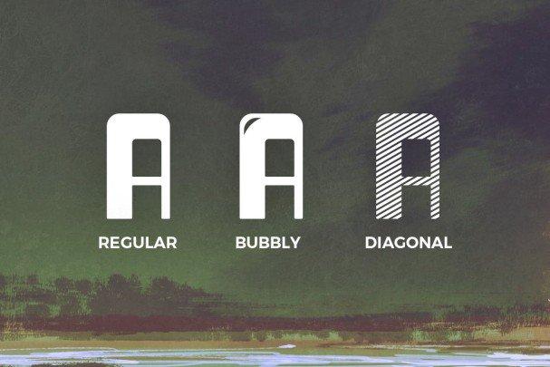 Dagon Typeface шрифт скачать бесплатно