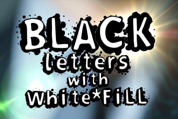 Splasher + WhiteFill version шрифт скачать бесплатно