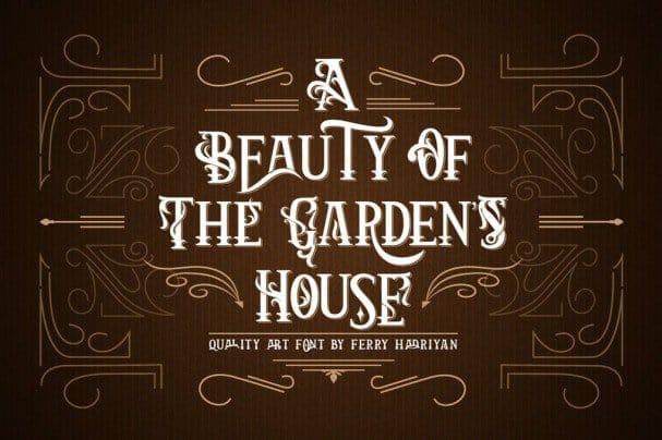 Arthouse - Display Font шрифт скачать бесплатно