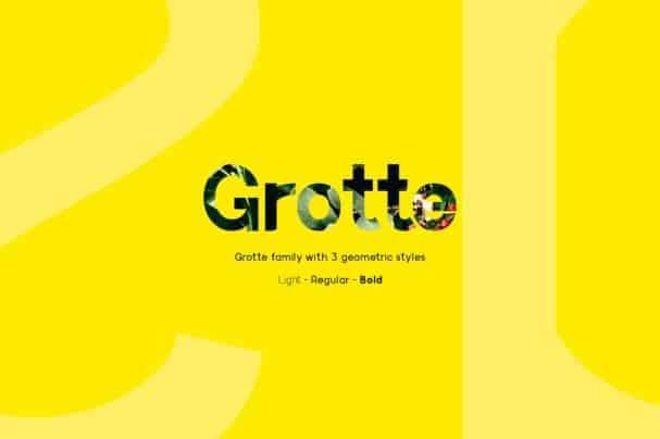 Grotte   шрифт скачать бесплатно