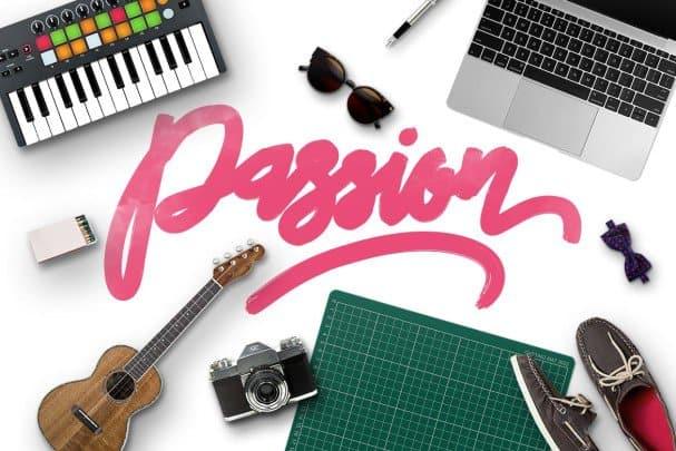 Passion Typeface шрифт скачать бесплатно